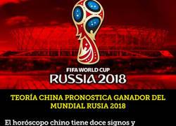 Enlace a Teoría china pronostica el ganador del Mundial Rusia 2018 y el premio se queda en Sudamérica