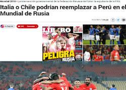 Enlace a Políticos Peruanos podrían clasificar a Italia o Chile al Mundial