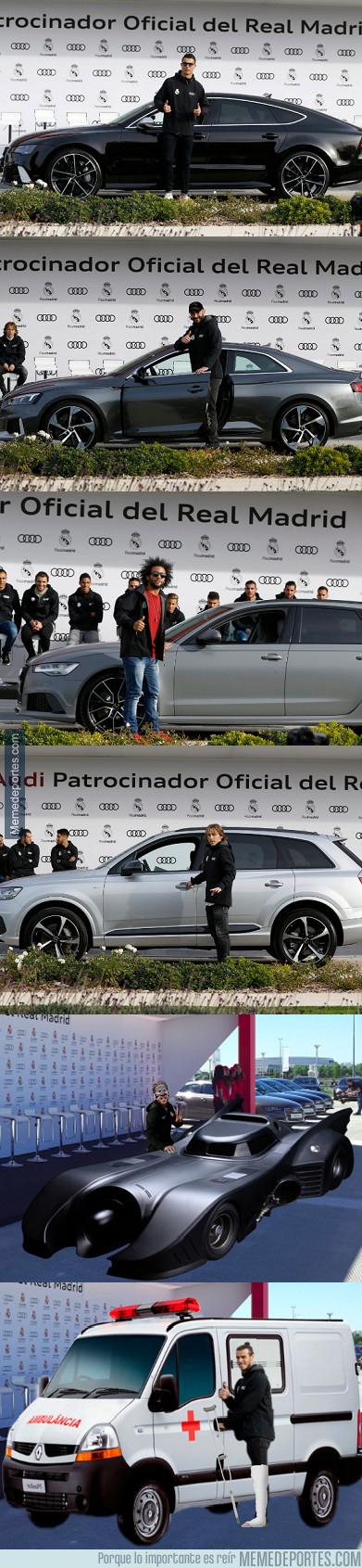 1008983 - Estos son los coches oficiales que ha recibido la plantilla del Real Madrid esta temporada