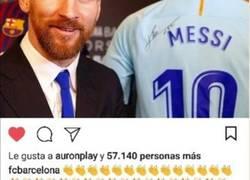 Enlace a Máximo alivio en Can Barça