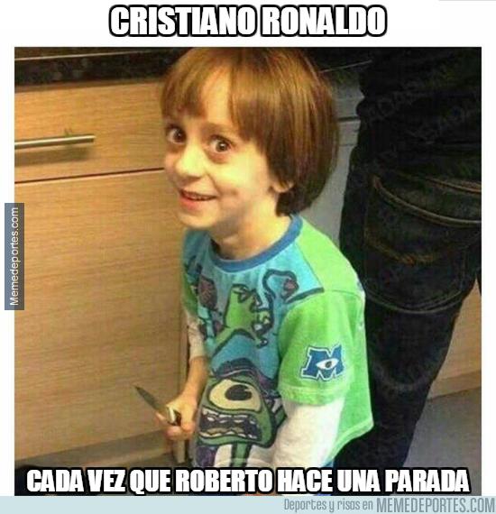 1009029 - Roberto está sacando de quicio a Cristiano