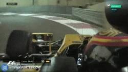Enlace a GIF: Las tuercas atacan de nuevo en la F1, esta vez a Carlos Sainz