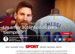 Enlace a El amor de Messi