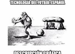 Enlace a El fútbol español y su tecnología