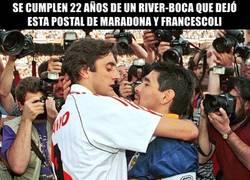 Enlace a El abrazo del Diego y Enzo