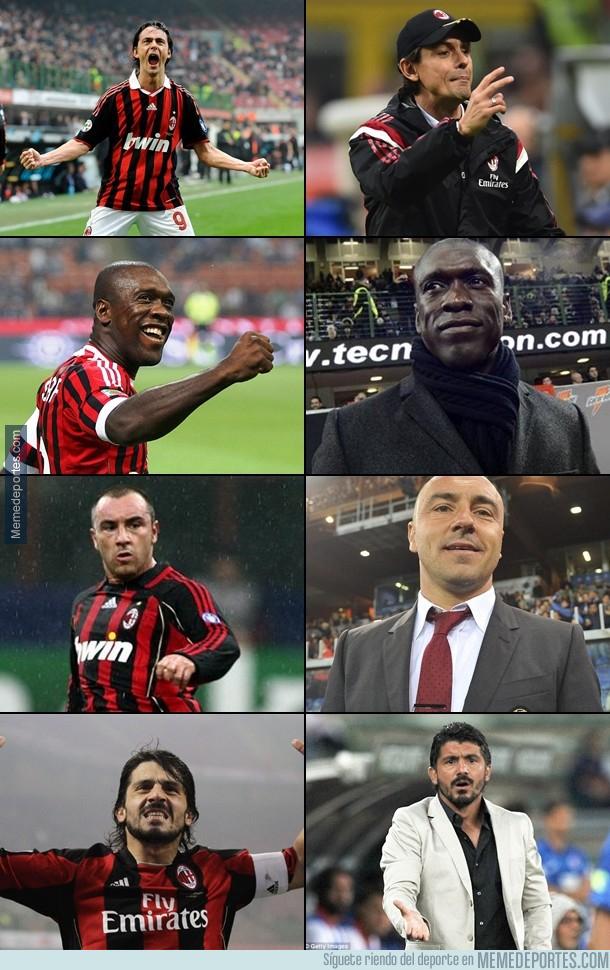 1009405 - El Milan sigue contratando ex-jugadores para dirigir el equipo