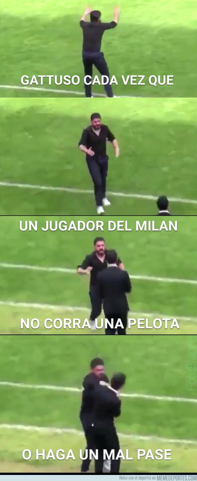 1009408 - Gattuso tomando las riendas del Milan