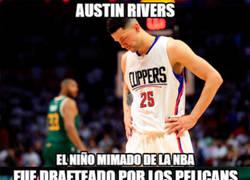 Enlace a Austin Rivers, el Adrián González del baloncesto
