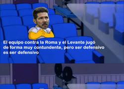 Enlace a El dilema de Simeone tras el 0-5 al Levante