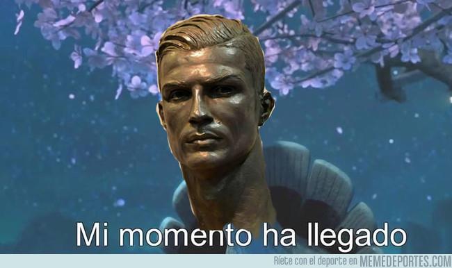 1009504 - Creo que Cristiano Ronaldo sí tiene ese cuello