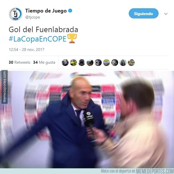 1009530 - Histórico gol del Fuenlabrada en el Bernabéu