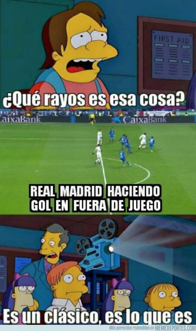 1009546 - Real Madrid y sus goles en fuera de juego ya son un clásico
