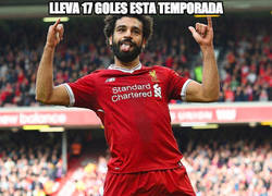 Enlace a Mohamed Salah se está saliendo en el Liverpool