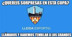 Enlace a ¡La gran sorpresa de la copa! ¡Grande el Lleida!