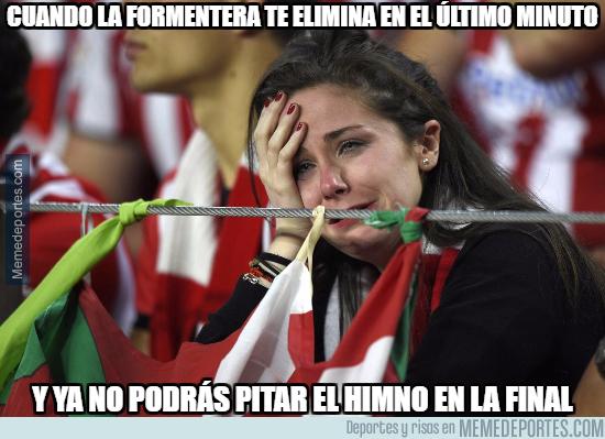 1009647 - Tristeza en los aficionados del Athletic