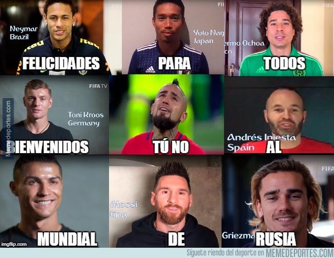 1009716 - Futbolistas de todo el mundo anunciando el mundial