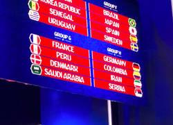 Enlace a España cae en el 'grupo de la muerte' en el último ensayo del sorteo del Mundial 2018