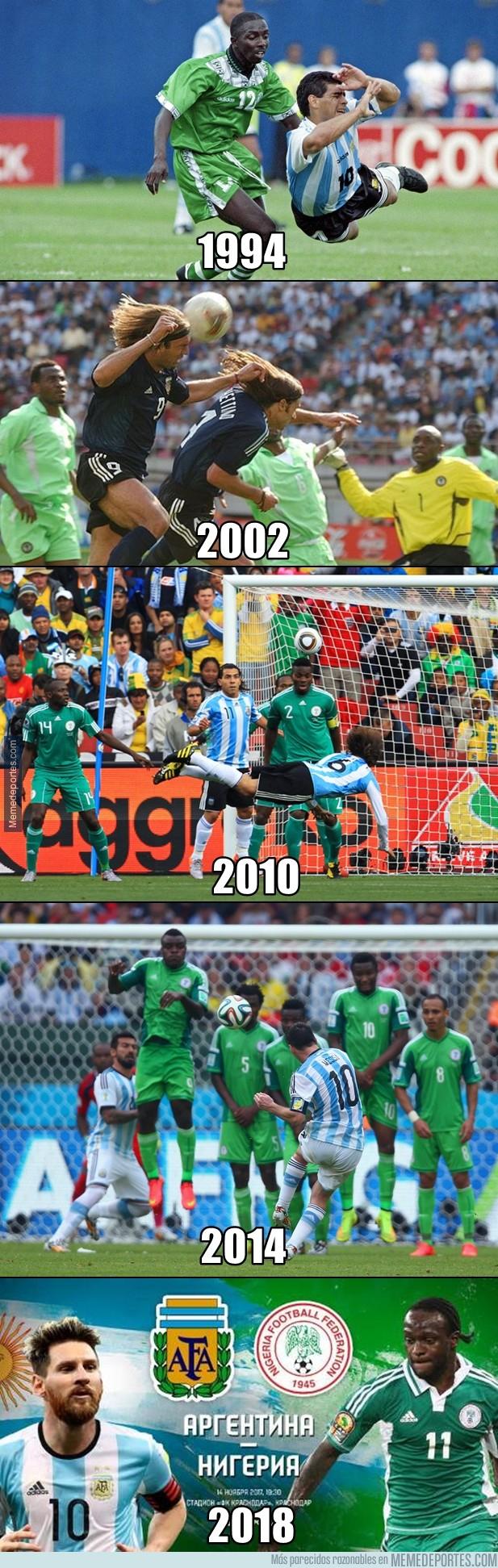 1009866 - Uno de los partidos más repetidos en fase de grupos del Mundial. El tercero consecutivo