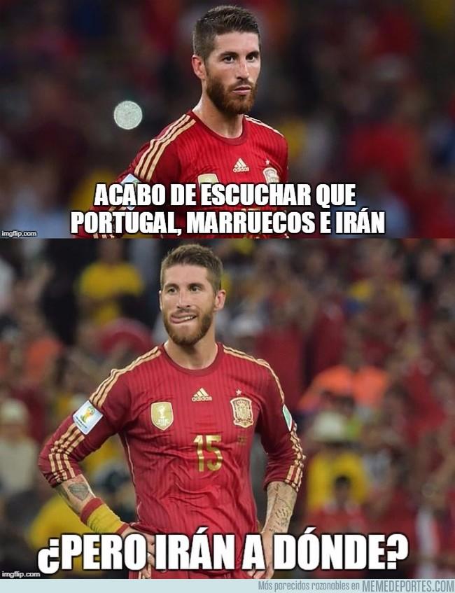 1009869 - Ramos no se aclara con el grupo de España en el Mundial