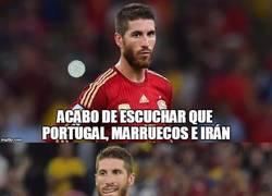 Enlace a Ramos no se aclara con el grupo de España en el Mundial