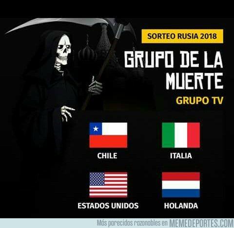 1009905 - El grupo de la muerte del Mundial, el grupo TV