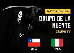 Enlace a El grupo de la muerte del Mundial, el grupo TV