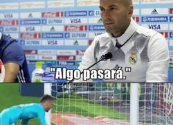 Enlace a Cuando le preguntaron a Zidane sobre la diferencia de puntos con el Barça