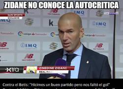 Enlace a El aburridor discurso de Zidane