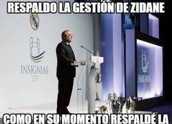 Enlace a Si dice esto, es que Florentino ya anuncia el próximo despido de Zidane