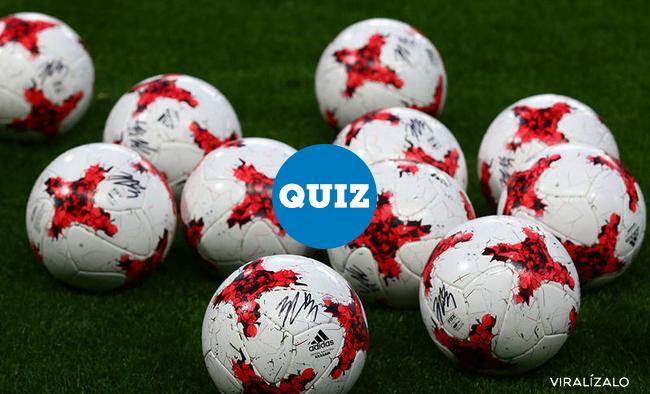 1010221 - QUIZ: ¿Sabes el nombre de los siguientes balones de fútbol?