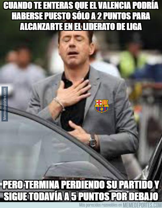 1010265 - El Barça y todos los culés en estos momentos tras la derrota del Valencia...
