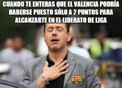 Enlace a El Barça y todos los culés en estos momentos tras la derrota del Valencia...