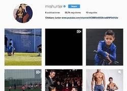Enlace a El hijo de Cristiano estrena Instagram con una foto y un mensaje más que sincero