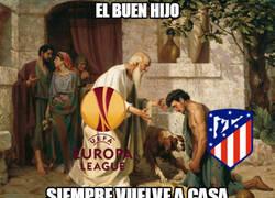 Enlace a Atlético de Madrid, el hijo pródigo de la Europa League