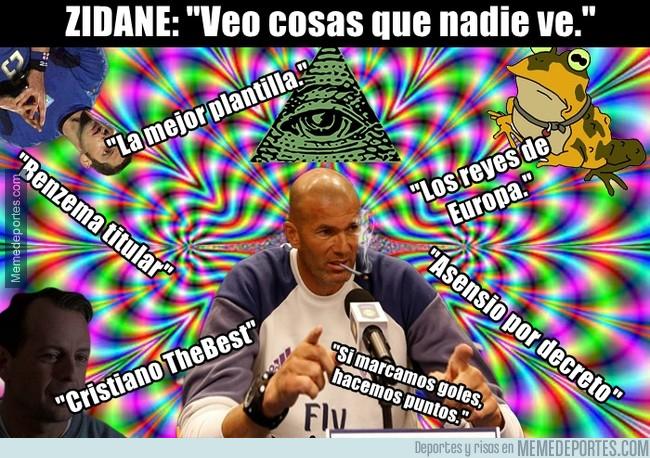 1010617 - Zidane ha auto-diagnosticado su problema