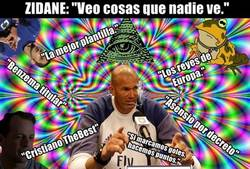 Enlace a Zidane ha auto-diagnosticado su problema