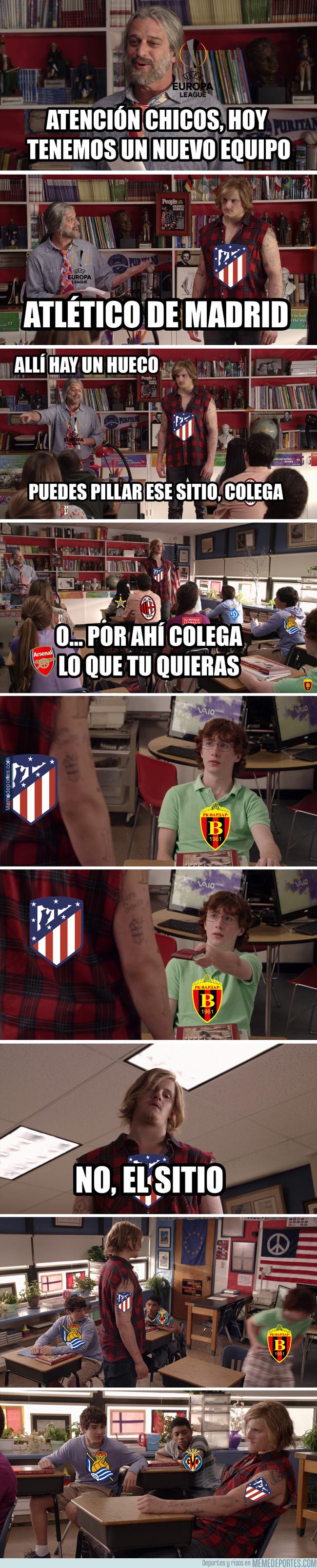 1010672 - Atlético en la Europa League...