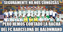 Enlace a El Guadalajara corta la racha de 133 victorias consecutivas del FC Barcelona