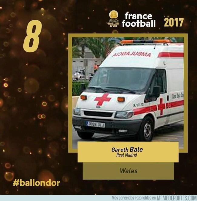 1010871 - La posición de Bale en el Balón de Oro