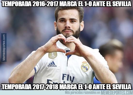 1011044 - Nacho, el abre latas de los Real Madrid - Sevilla
