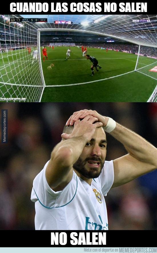 1011103 - Benzema y su mala suerte