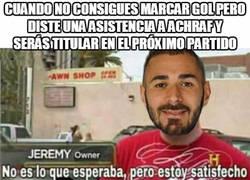 Enlace a Benzema consiguió su objetivo