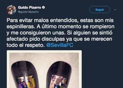 Enlace a Guido Pizarro intenta justificar el uso de las espinilleras de Cristiano y se lleva 3 zascas brutales