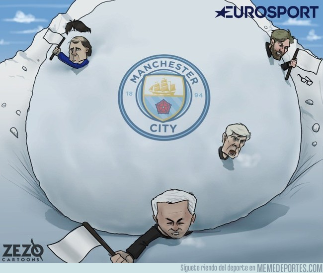1011440 - La avalancha del City tumba a otro gran equipo,  by @ZEZO_CARTOONS