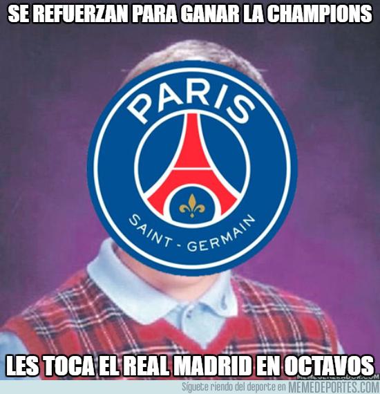 1011519 - La mala suerte es para el PSG, ¿o para el Madrid?