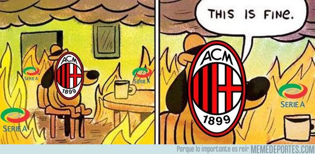 1011614 - El Milan en estos momentos