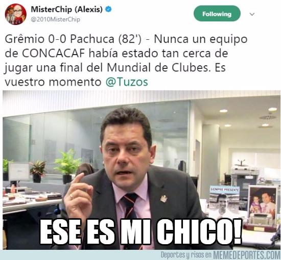1011731 - Mister Chip, el gafe del Pachuca