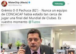 Enlace a Mister Chip, el gafe del Pachuca