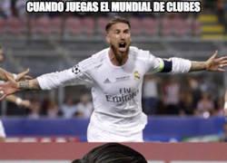 Enlace a Si un jugador del Real Madrid es expulsado en el Mundial, se perdería el clásico ante el Barça