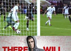 Enlace a Entra Bale, toca el balón, gol